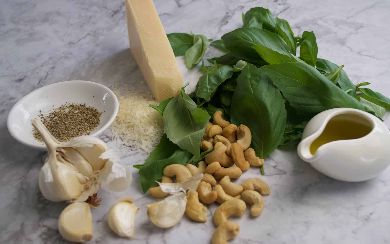 Basil and cashew pesto