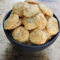 cheese and caraway shortbread biscuits