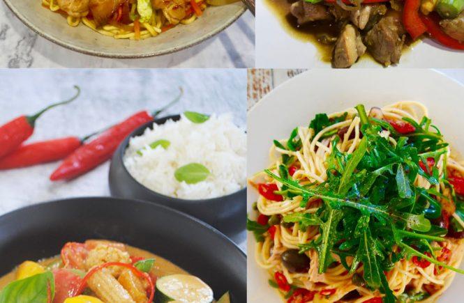 easy midweek dinners