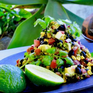 Mexican chargrilled corn salsa