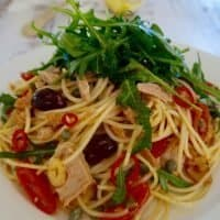 easy quick tuna pasta