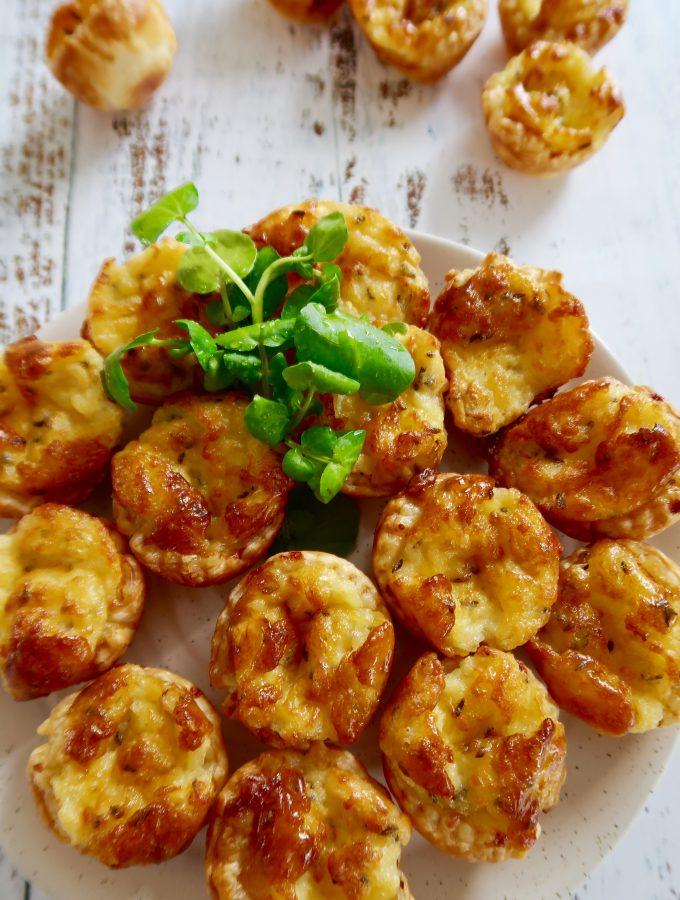 cheese puff tarts