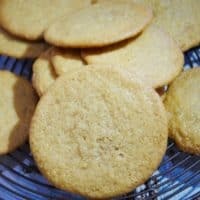 honey ginger snap cookies