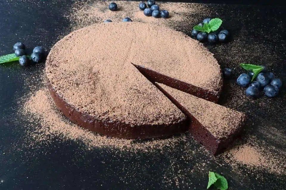 Chocolate Nemesis Cake River Cafe