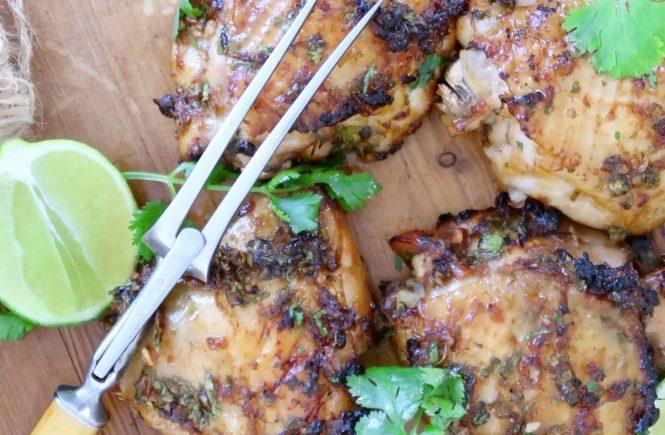 Vietnamese Baked Chicken Thighs