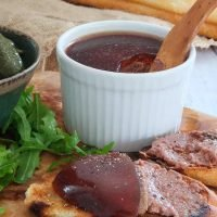chicken liver pate with orange