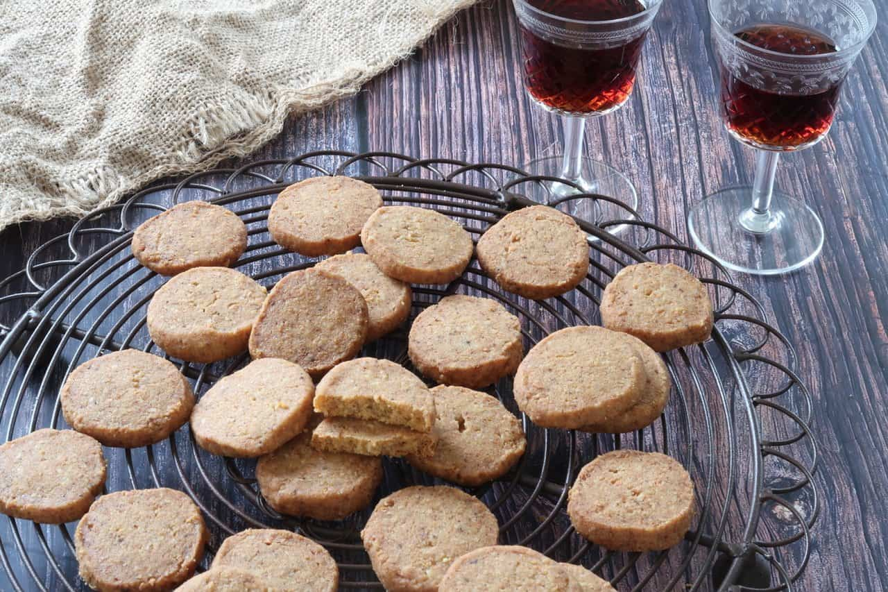 Anchovy, Cheese and Pine Nut Biscuits as part of 15 Holiday Baking Recipes for Thanksgiving