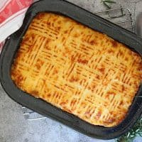 Cottage Pie with Cauliflower Cheese Mash
