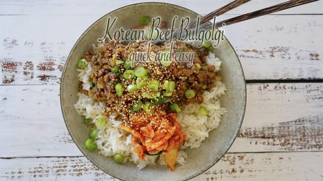 Korean Beef Bulgolgi