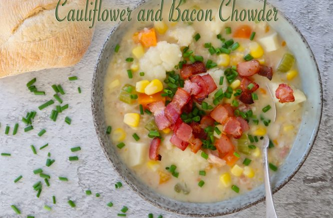 Cauliflower and Bacon Chowder