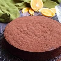 Flourless Chocolate and Orange Cake