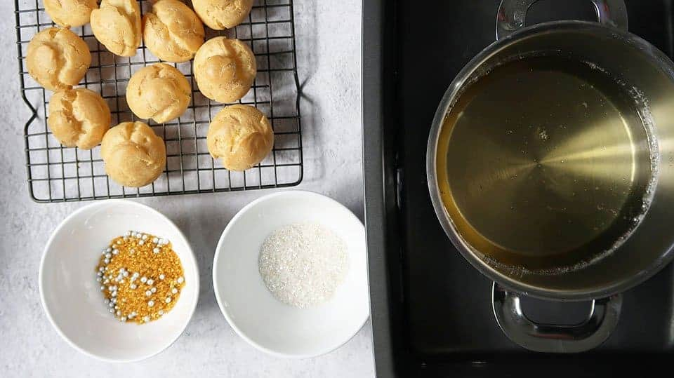decorating cream puffs for The Definitive Guide to Making Choux Pastry
