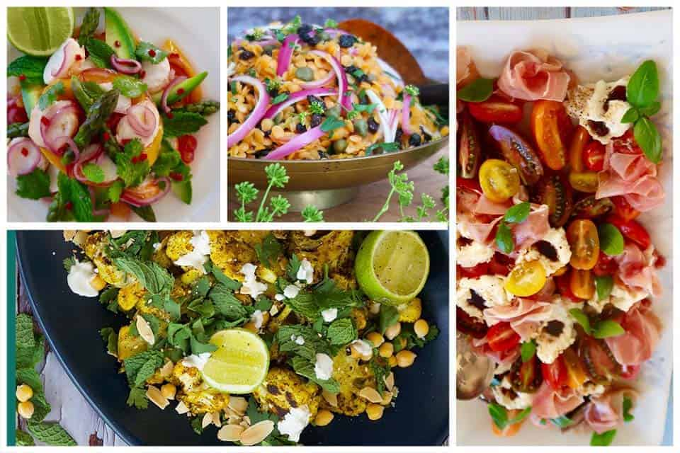 Christmas Salads compilation of salad recipes